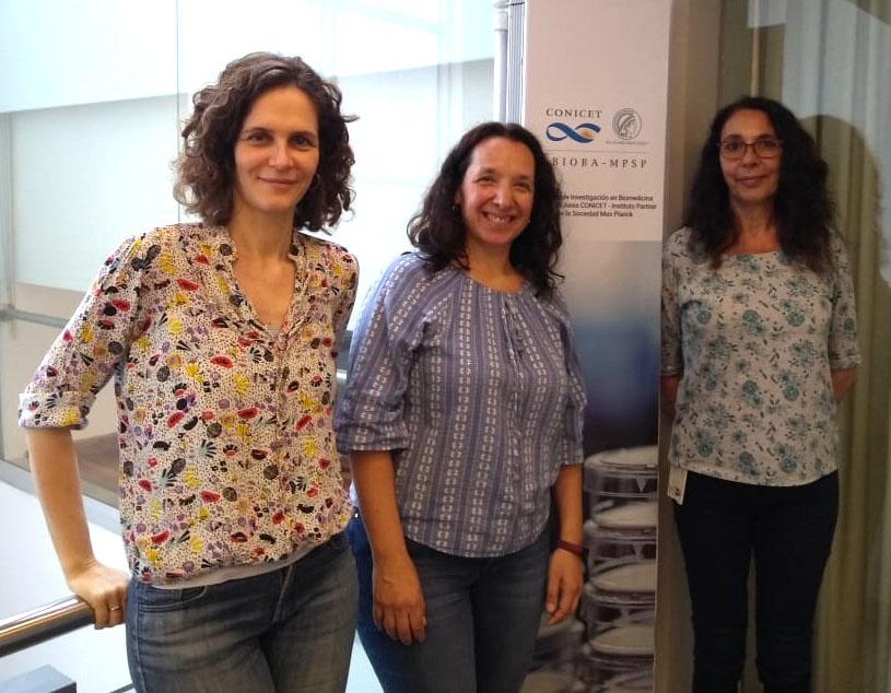 Ana Liberman, Florencia Quiroga y Susana Silberstein.