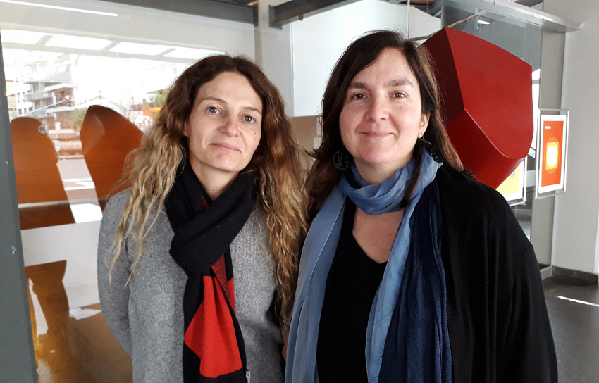 Ana Franchini y Antonia Marin Burgin