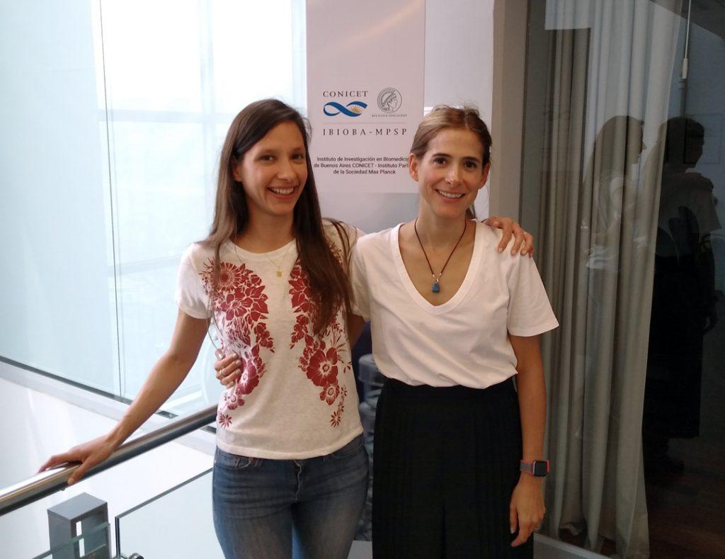 Geraldine Gueron y Belen Elguero