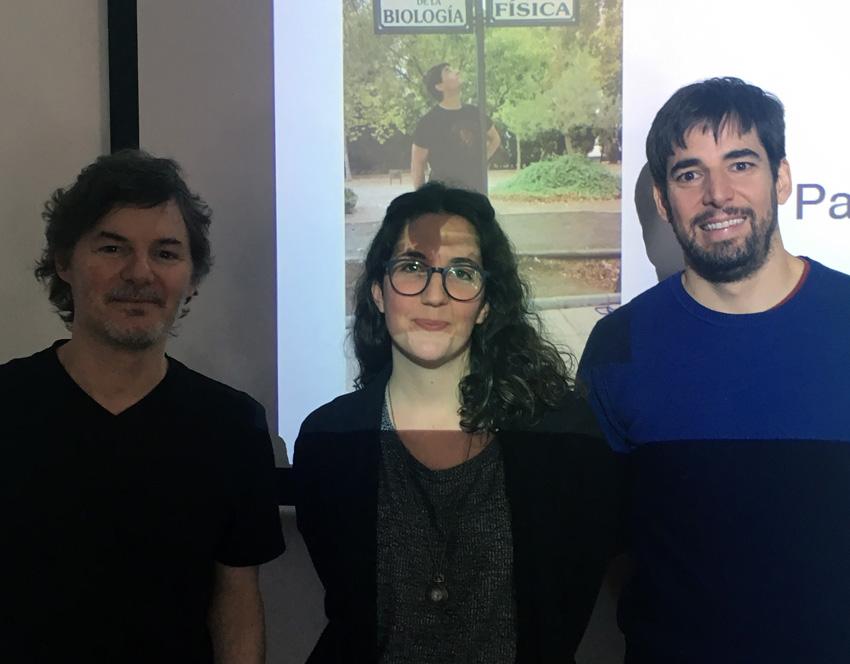 Luis Morelli, Sol Fernández Arancibia and Javier Muñoz García.
